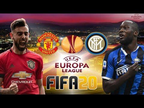 Man United v Inter Milan Europa League Final FIFA 20 Score Prediction