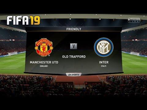 Manchester United Vs Inter ! FIFA 19 Prediction ! INTERNATIONAL CHAMPIONS CUP 2019 ! 25.07.2019