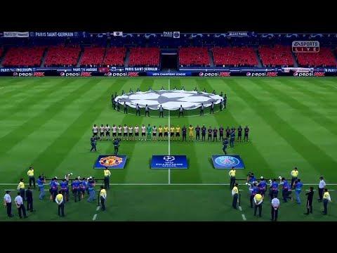Paris Saint Germain Vs Manchester United champions league PSG lineup prediction on FIFA19