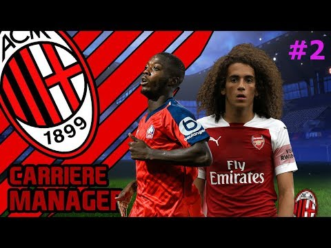 FIFA 19 | CARRIERE MANAGER AC MILAN #2 | ENORME RECRUTEMENT !