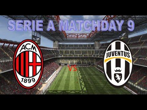 FIFA 17| AC Milan vs Juventus FC  22/10/2016 Prediction