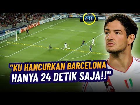 INGAT GAK? Hari Dimana AC Milan Hancurkan Barcelona Hanya 24 Detik Saja