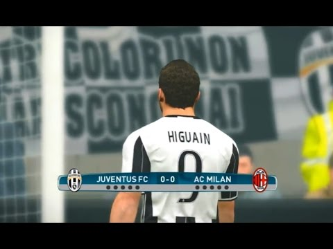 Juventus vs Milan – PES 2017 Penalty Shootout