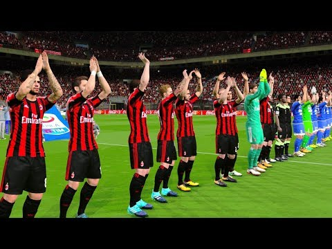 AC Milan vs Udinese 17 September 2017 Gameplay