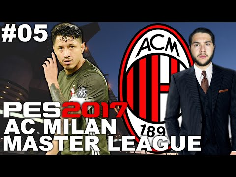 LUCKY GOAL! AC MILAN MASTER LEAGUE #05 [PES 2017]