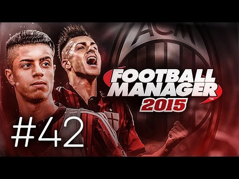 FOOTBALL MANAGER 2015 LET'S PLAY   A.C. Milan #42   Youngsters Get Involved In The Cup
