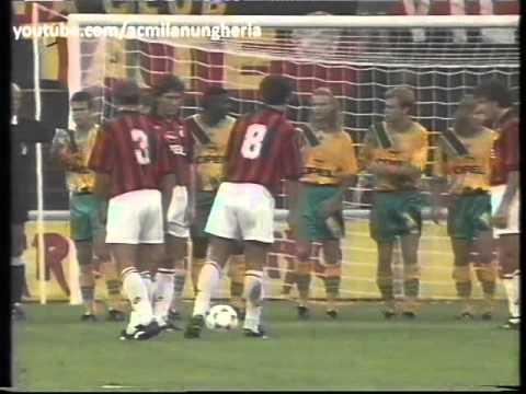 Trofeo Luigi Berlusconi 1994 | AC Milan vs Bayern München 1-0 | 1994.08.17 | Primo Tempo