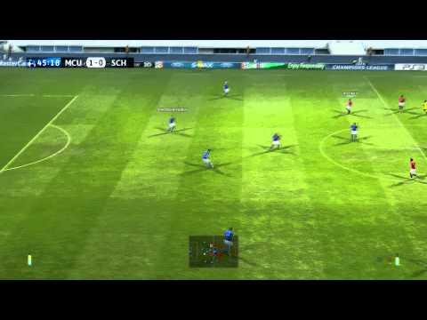 Pro Evolution Soccer 2011 – Manchester United vs Schalke 04