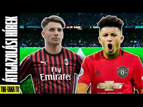 Szoboszlai: Irány az AC Milan?? Jadon Sancho megegyezett a Man. United-del?? ► Átigazolási Hírek
