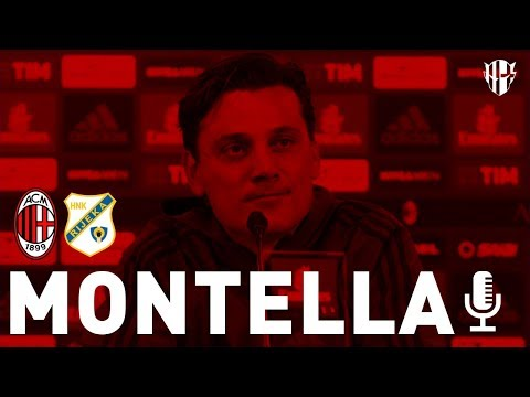 Press Conference | AC Milan vs. Rijeka | Bonucci and Montella • 2017/2018
