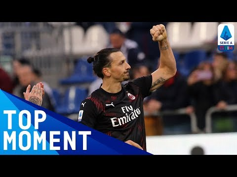 Zlatan's First Goal on his Return to Milan! | Cagliari 0-2 Milan | Top Moment | Serie A TIM