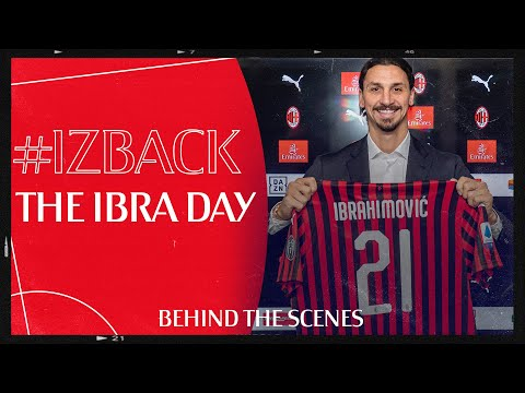 #IZBACK | The Ibra Day: Behind the Scenes Exclusive
