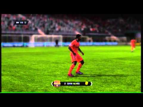 [Fifa11]AC Milan Vs Barcelona (FT) 3 – 0