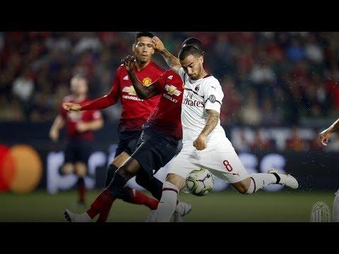 GOAL Suso | AC Milan 1-1 Man. United | ICC 2018