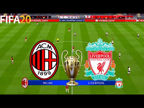 FIFA 20 | AC Milan vs Liverpool – UEFA Champions League – Full Match & Gameplay