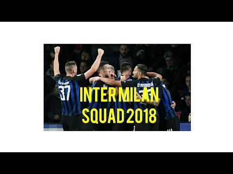 INTER MILAN SQUAD 2018