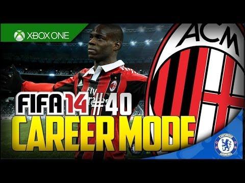 FIFA 14 XB1 | AC Milan Career Mode Ep40 – UCL RETURN!!