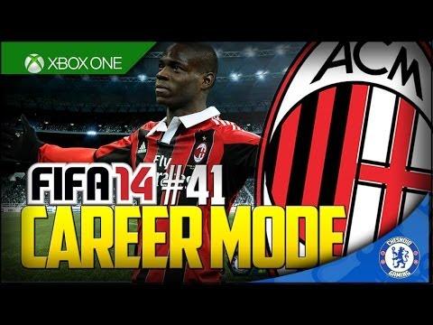 FIFA 14 XB1 | AC Milan Career Mode Ep41 – BALOTELLI IS BACK!!
