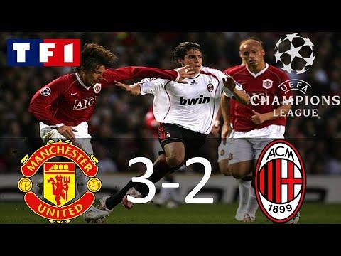 Manchester United 3-2 AC Milan | Demi-finale aller | Ligue des Champions 2006/2007 | TF1/FR