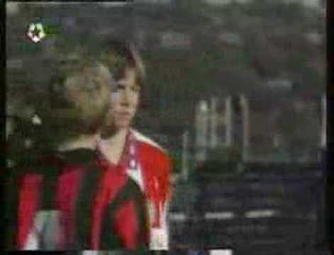 fernando torres(12 y old) VS A.C. milan….rare video
