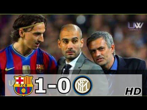 Barcelona vs Inter Milan 1-0 | WHEN JOSE MOURINHO MET PEP GUARDIOLA – 2010