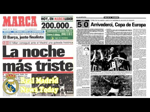The 50 best games in history: AC Milan 5-0 Real Madrid, 1989 European Cup- Real Madrid news today