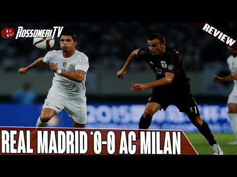 Real Madrid *0-0 AC Milan | Match Review | Rossoneri TV