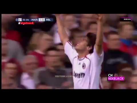 Kaká (Milan) – 24/04/2007 – Manchester United-ING 3×2 Milan – 2 gols