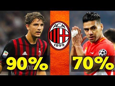 AC Milan Confirmed Transfer & Rumours | Morata , Falcao , Reina