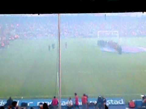 TROFEO JOAN GAMPER 2010- FC BARCELONA – AC MILAN presentación de los jugadores (3)