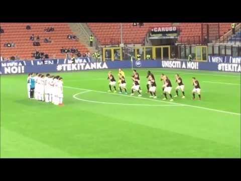 AC Milan Players Bizarrely Haka Dance