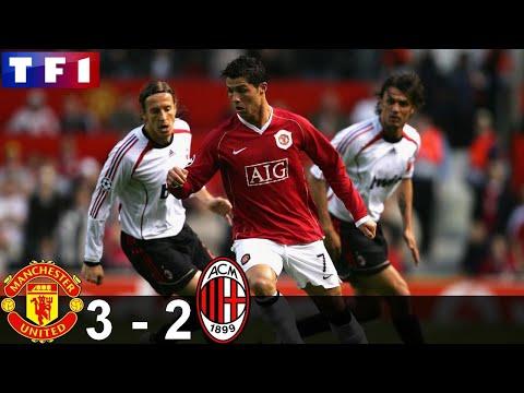 Résumé MANCHESTER UTD 3 – 2 MILAN AC | Demi Finale Ligue des champions 06/07 [HD] [TF1]