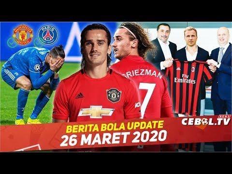 MU Siapkan No.7 Untuk Griezmann🔴AC Milan Inginkan Mario Gotze🔴Ronaldo Ingin Hengkang dari Juve