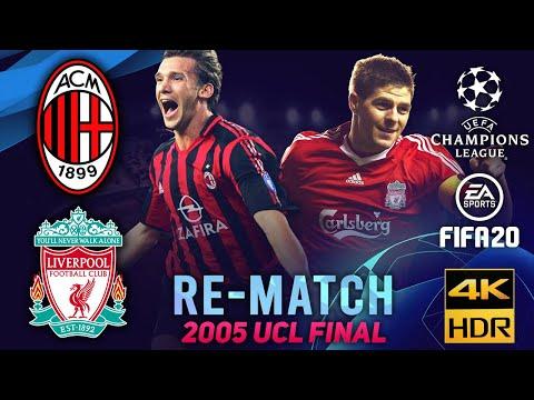 AC Milan vs Liverpool | FIFA 20 Re-Match: Champion League 2005 Final #MILLIV