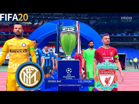 FIFA 20 | Inter Milan vs Liverpool – Final UEFA Champions League – Full Match & Gameplay