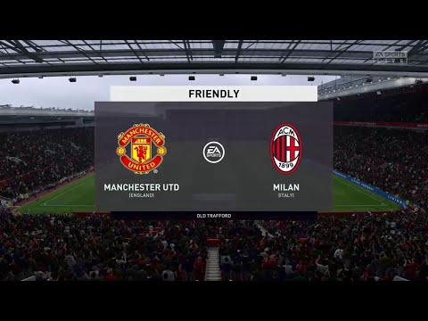 FIFA 20 MANCHESTER UNITED VS AC MILAN