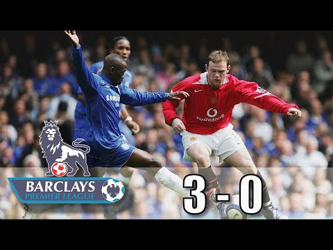 Chelsea 3-0 Man United Premier League 2005/2006 all goals and extent highlight #ChelseaMan United