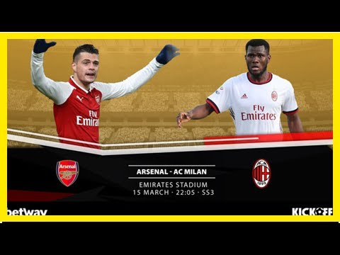 Breaking News | Confirmed Line-Ups: UEFA Europa League, Arsenal vs AC Milan