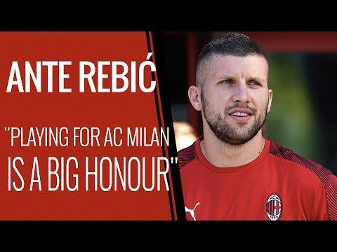 "Interview | Ante Rebić: ""AC Milan a great responsibility"""