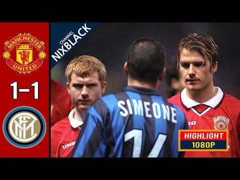 Manchester United 1-1 Inter Milan 1999 Classic Match All goals & Highlights FHD/1080P
