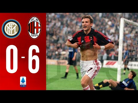 INTER 0-6 AC MILAN | Highlights | Serie A • 2000-2001